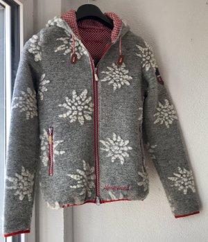 Almgwand Cardigan multicolored wool
