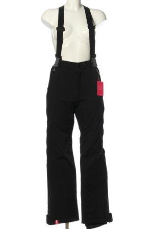 Almgwand Pantalón de esquí negro-gris claro look casual