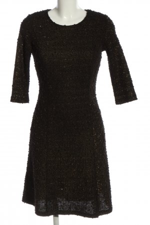 Almost Famous A Line Dress black-gold-colored elegant