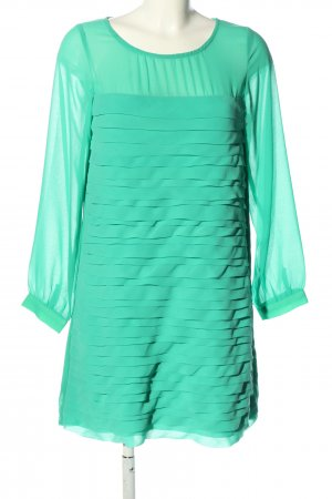 Almost Famous Blouse Dress turquoise casual look