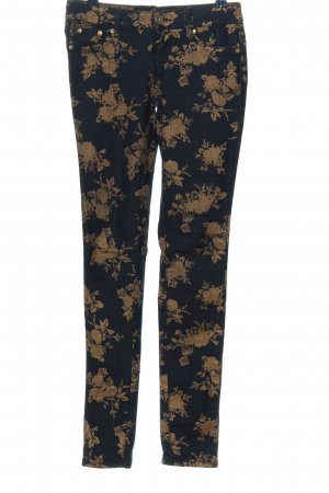 Almost Famous Skinny jeans blauw-groen abstract patroon casual uitstraling