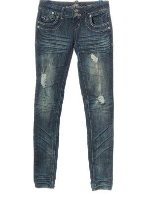 Almost Famous Jeans skinny bleu style décontracté