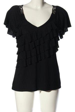 Almost Famous Camiseta negro look casual