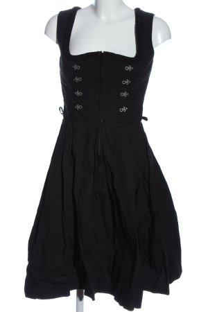 Almsach Vestido Dirndl negro look casual