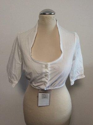 Almsach Folkloristische blouse wit