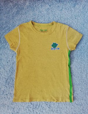 Freeman t. porter T-shirt orange doré-vert