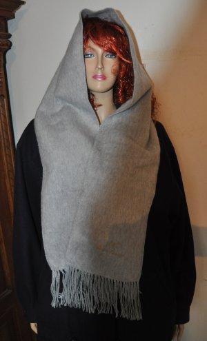 Écharpe en cachemire argenté laine alpaga