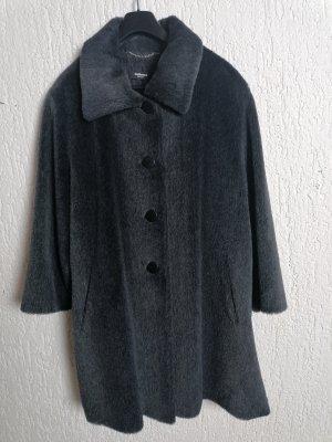 Walbusch Manteau de fourrure gris anthracite laine alpaga