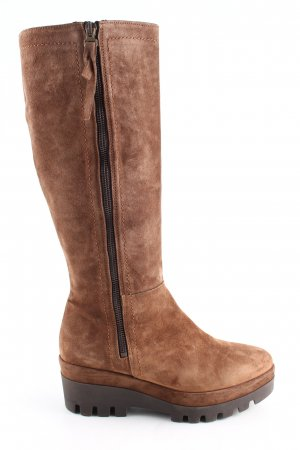 Alpe Heel Boots brown casual look