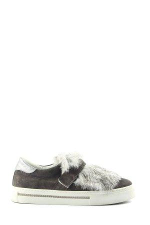 Alpe Woman Buty wciągane jasnoszary-srebrny Ekstrawagancki styl