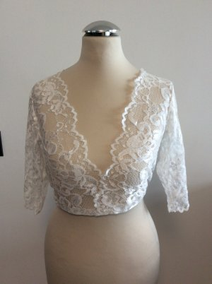 Alpenherz Tradycyjna bluzka biały