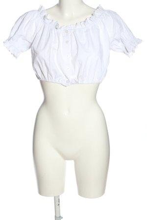 Alpenzauber Blouse bavaroise blanc style classique