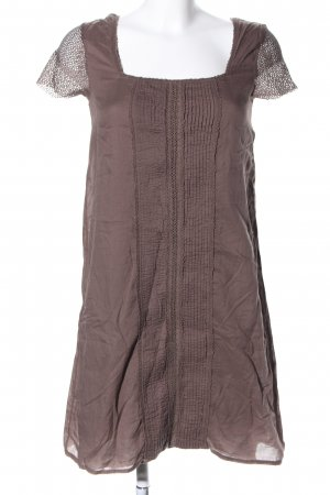 Alpha Blouse Dress brown casual look