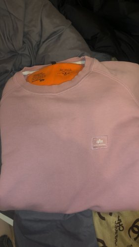Alpha Industries Pull oversize rose