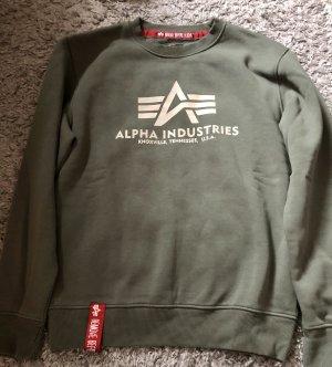 Alpha Industries Maglione oversize cachi