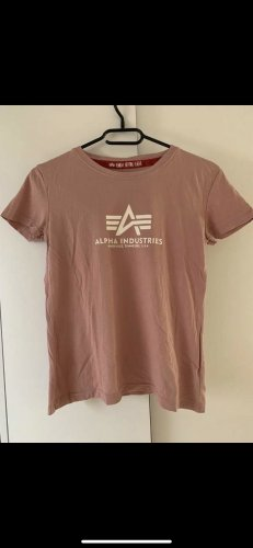 Alpha Industries Camiseta rosa claro