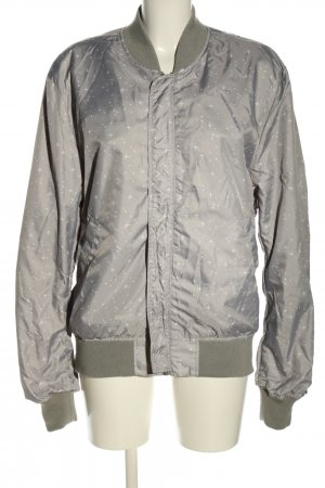 Alpha Industries Chaqueta bomber gris claro-blanco look casual