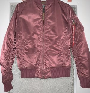 Alpha Industries Chaqueta bomber rosa-color rosa dorado