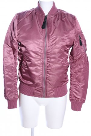 Alpha Industries Bomberjacke pink Casual-Look