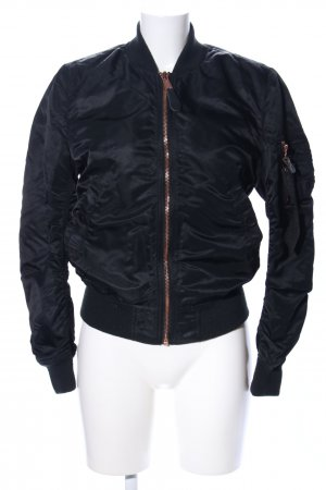 Alpha Industries Giacca bomber nero stile casual