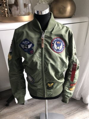 Alpha Industries Bomberjacke Patch