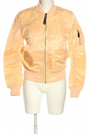 Alpha Industries Fliegerjacke nude Casual-Look