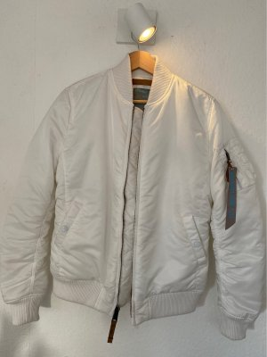 Alpha Industries Chaqueta bomber blanco