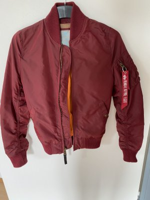 Alpha Industries Bomber Jacket red