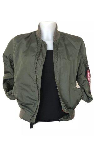 Alpha Industries Bomber Jacket khaki-olive green