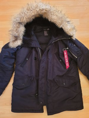 Alpha Industries Mantel Jacke Gr L