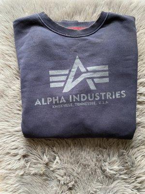 Alpha Industries Maglione girocollo blu scuro