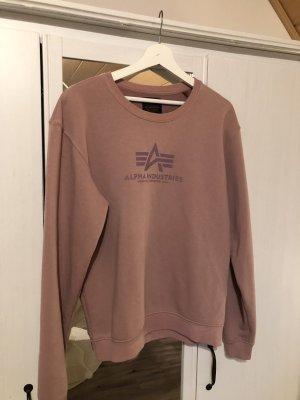 Alpha Industries Crewneck Sweater dusky pink-mauve