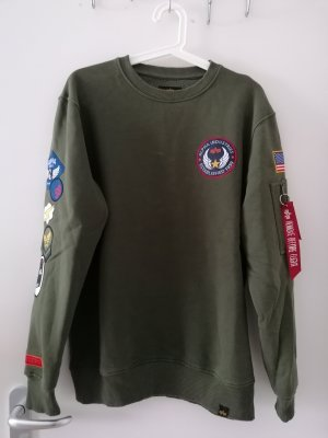 Alpha Industries Jersey de cuello redondo multicolor