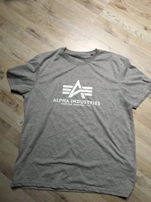 Alpha Industries Camiseta color plata-gris claro