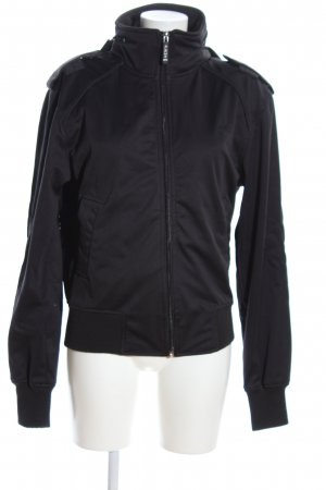 Alpha Industries Sportjacke schwarz Casual-Look