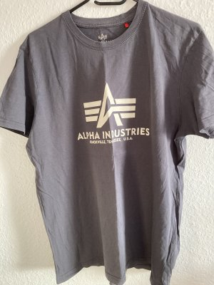 Alpha Industries T-shirt antracite