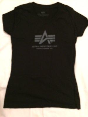 Alpha Industries T-shirt noir coton