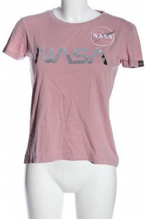 Alpha Industries T-Shirt printed lettering casual look