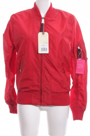 Alpha Industries Übergangsjacke rot Casual-Look