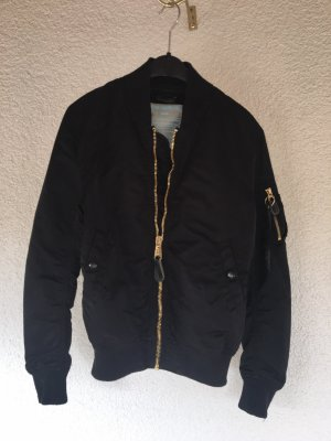 Alpha Bomber Jacket black