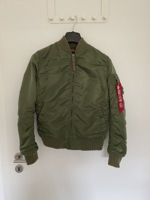 Alpha Giacca bomber grigio-verde-cachi