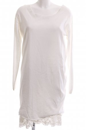 Alpha Longsleeve Dress natural white elegant