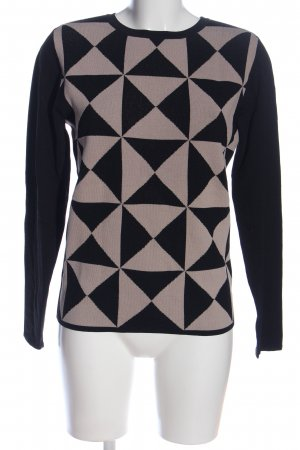 Alpha Longsleeve black-natural white graphic pattern casual look