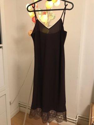 Alpha Studio Lace Dress bordeaux-brown red