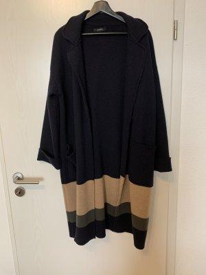 Alpha Studio Manteau en tricot multicolore laine