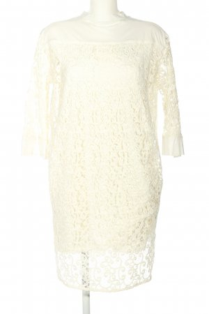 Alpha Studio Lace Dress white casual look