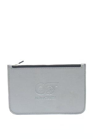 Alpha Tauri Custodie portacarte grigio chiaro Stampa a tema stile casual