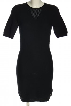 Alpha Tauri Knitted Dress black casual look