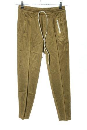 Alpha Tauri Pantalon de jogging brun style décontracté