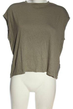 Alpha Tauri Boothalsshirt groen elegant